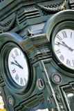 An Image of a vintage outdoor clock. Classic, time - abstract Royalty Free Stock Photography