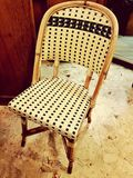 Vintage Wooden Chair Royalty Free Stock Photography