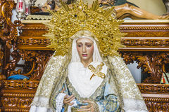 Image of the Virgin Mary inside a church Marbella, Andalucia Spa Stock Photography