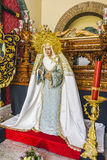Image of the Virgin Mary inside a church Marbella, Andalucia Spa Stock Images