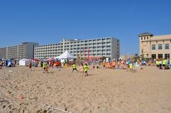 Virginia Beach Sand Soccer Royalty Free Stock Photos