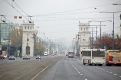 Image of Warsaw. Warsaw is the capital and largest city of Poland Royalty Free Stock Image
