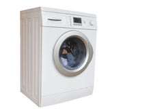 The image of washer Royalty Free Stock Image