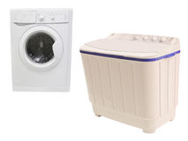 The image of washer Royalty Free Stock Photos
