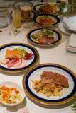 Image of wedding cuisine stock photography