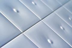Image with white ceramic tiles Royalty Free Stock Image