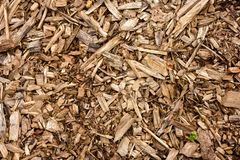 Image of wooden sawdust close-up royalty free stock photo