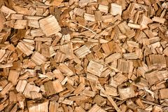 Image of wooden sawdust close-up stock photo