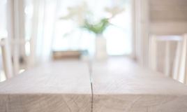 Image of wooden table