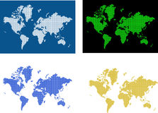 Image of World map. Computer designed world map business background Royalty Free Stock Images