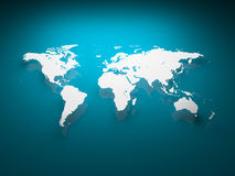 Image of World Map Royalty Free Stock Photos