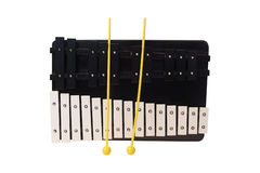The image of xylophone Royalty Free Stock Photography