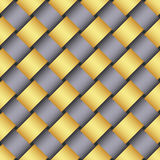 Image of yellow and gray ribbons. Royalty Free Stock Images