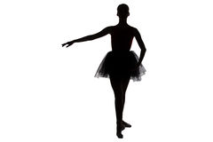 Image of young ballerina in position Stock Photo