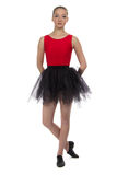 Image of young ballerina Royalty Free Stock Photo