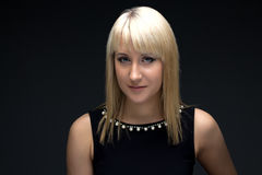 Image of young blond woman Royalty Free Stock Image