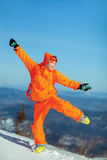 image of young snowboarder Royalty Free Stock Images