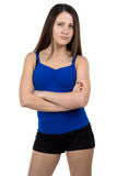 Image of young sporty woman Stock Images