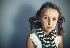 Image of young stylish girl Royalty Free Stock Photo