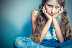 Image of young stylish girl Stock Photo