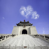 Imageing of Chiang Kai-shek Memorial Hall Feb 14, 2012 in Taipei Stock Images