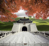 Imageing of Chiang Kai-shek Memorial Hall Feb 14, 2012 in Taipei Stock Image