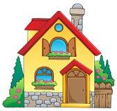 Imagem 1 do tema da casa ilustração royalty free