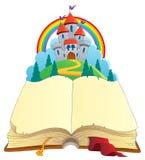 Imagem 1 do tema do livro do conto de fadas Imagem de Stock Royalty Free