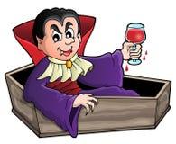 Imagem 1 do tema do vampiro Foto de Stock