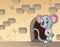 Imagem 3 do tema do rato Imagens de Stock Royalty Free