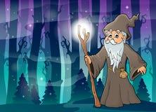 Imagem 4 do tema da druida Imagem de Stock Royalty Free