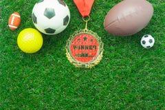 Imagem aérea da opinião de tampo da mesa do fundo do futebol ou da temporada de futebol Imagem de Stock Royalty Free