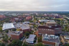 Imagem aérea de FSU Tallahassee Fotos de Stock