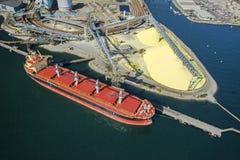 Imagem aérea de Vancôver, BC foto de stock royalty free