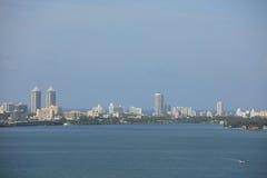 Imagem aérea Miami Beach Imagens de Stock Royalty Free