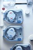 Imagem abstrata com sensor e interruptores Imagens de Stock