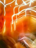 Imagem abstrata da cor do néon do borrão fotos de stock royalty free