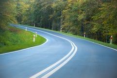 Imagem abstrata da velocidade com movimento Fotos de Stock Royalty Free