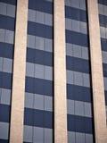 Imagem abstrata de um prédio de escritórios em Tyler Texas Foto de Stock Royalty Free