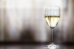 Imagem abstrata de um vidro do vinho Imagem de Stock