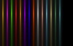 Imagem abstrata do alargamento da iluminação da explosão do sol ilustração do vetor