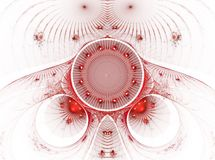 A imagem abstrata do fractal da cor. Fotos de Stock Royalty Free
