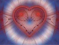 A imagem abstrata do fractal da cor. Imagens de Stock