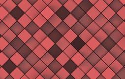 Imagem abstrata do fundo dos cubos ilustração 3D Fotos de Stock Royalty Free
