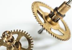 Imagem abstrata do mecanismo do maquinismo de relojoaria - rodas denteadas - engrenagens Fotos de Stock Royalty Free