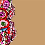 Imagem abstrata gráfica de formas geométricas Foto de Stock
