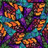 Imagem abstrata gráfica de formas geométricas Fotos de Stock Royalty Free