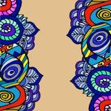 Imagem abstrata gráfica de formas geométricas Imagem de Stock Royalty Free