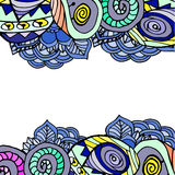 Imagem abstrata gráfica do  do geometriÑ Foto de Stock Royalty Free