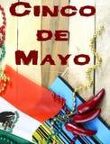 Imagem agradável para Cinco de Mayo, uma celebração mexicana, no 5o maio foto de stock royalty free